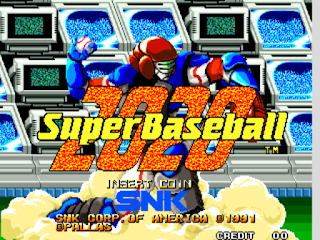 2020 Super Baseball (set 1)  ( Arcade )