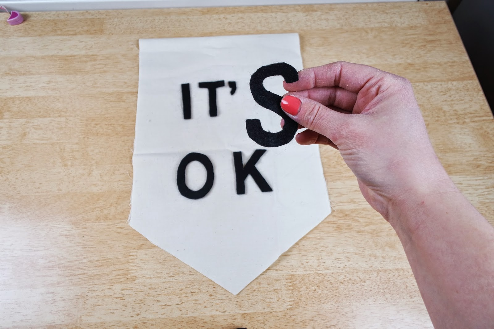 it's ok banner tutorial