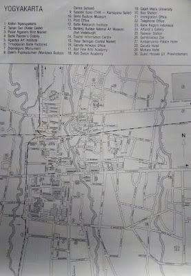 Yogyakarta Maps