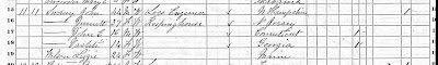 1870 Federal Census, Huntsville, Ward 2, Madison Co., Alabama  Page 2, Line 15, John Swasey Household