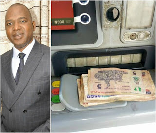 LMAOO!!!! ATM machine allegedly dispenses N5 Naira note instead of N500