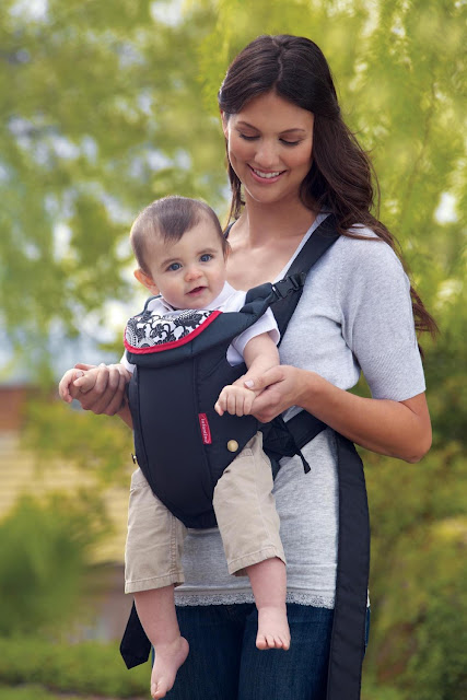 forward baby carrier reversible strap easy