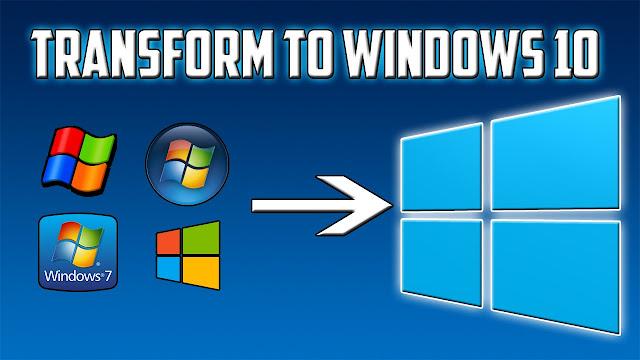 شرح كيفية التحويل من ويندوز XP او فيستا الي ويندوز 10 الجديد
