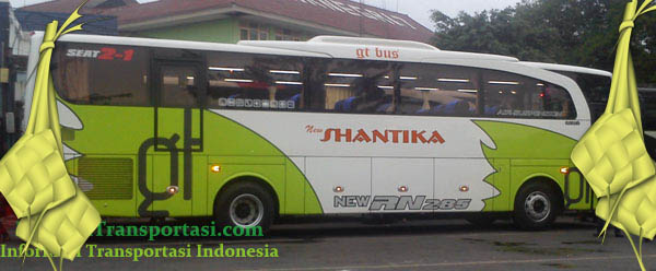 Harga Tiket Lebaran 2017 Bus New Shantika