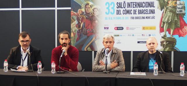 """Presentación de """"Anacleto, agente secreto"""" en el Salón del Cómic"""
