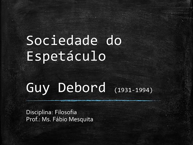 'A Sociedade do Espetáculo' completa 50 anos