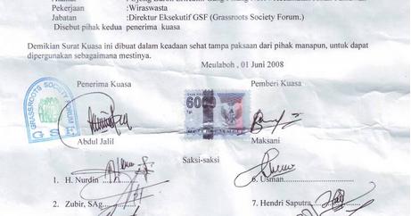 Contoh Surat Kuasa Materi Bahasa Indonesia Kelas Xi Feed Lowongan