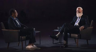 Jay-z and David Letterman interview