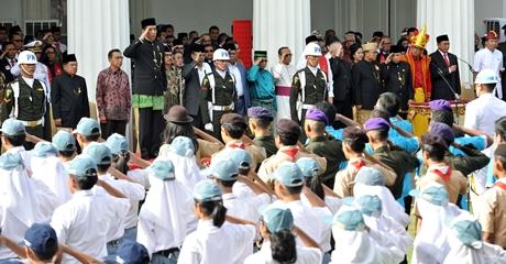 Presiden Jokowi Jamin Pemerintah Pasti Tegas Terhadap Organisasi dan Gerakan Anti Pancasila