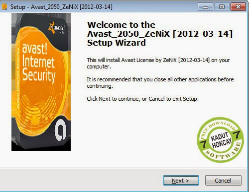 Aktivator Avast Internet security 2014 Crack by Zenix