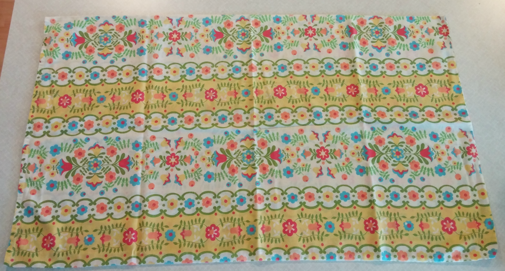 vintage pillowcase