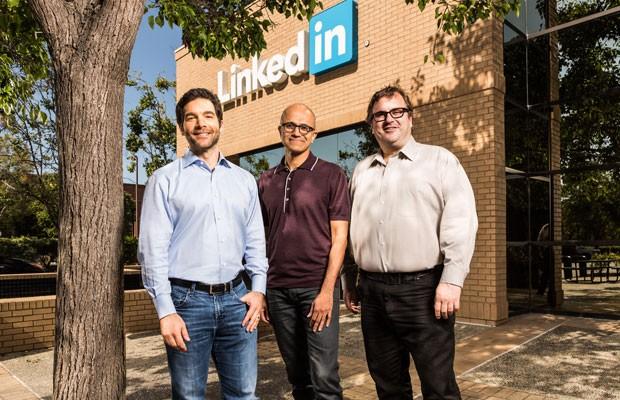 Microsoft compra o LinkeIn