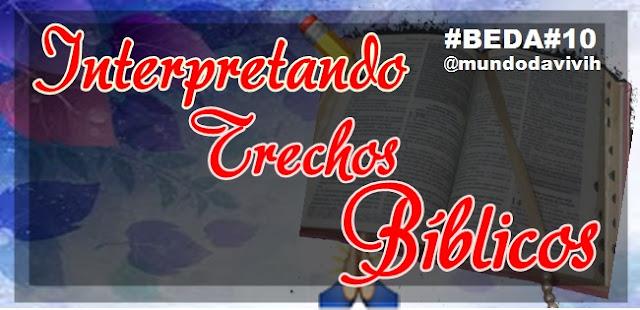 Interpretando Trechos Bíblicos