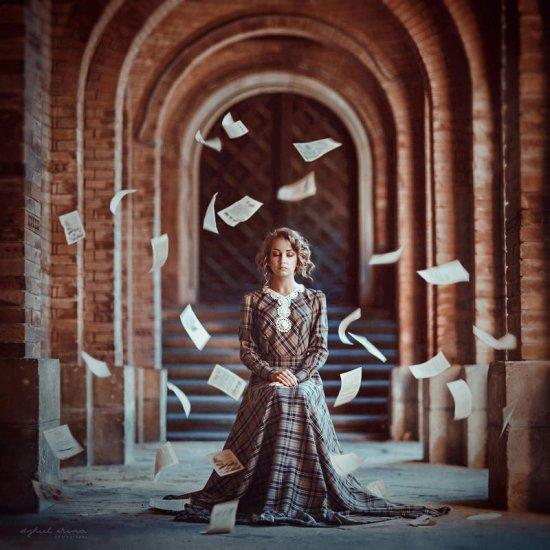 Irina Dzhul 500px fotografias fashion surreal contos de fada mulheres fantasia