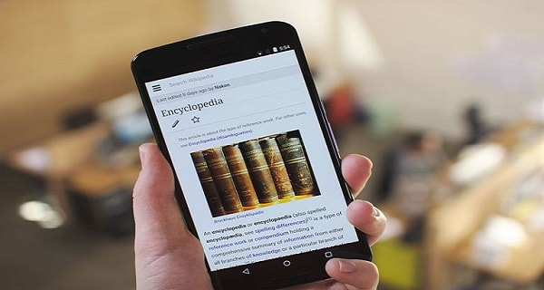 Wikipedia stops project surfing the encyclopedia at no cost Internet