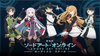 Sword Art Online: Ordinal Scale   Dual Audio   10bit HEVC   BD 720p   MeGaTroN