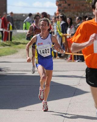 Atleta Española 4ta en la General Elena María Espeso Gayte con 2h36:46