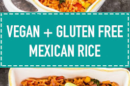 Vegan + Gluten Free Mexican Rice