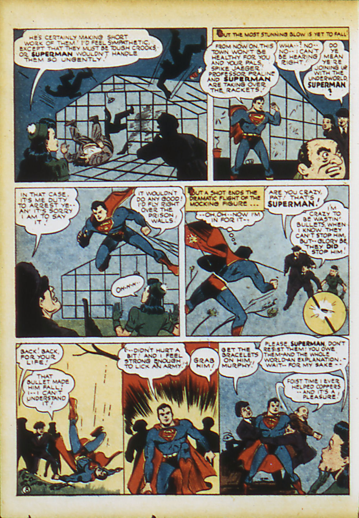 Read online Action Comics (1938) comic -  Issue #63 - 11