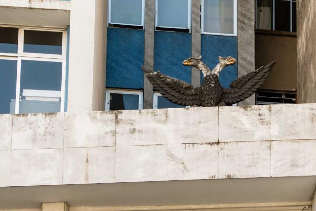 A águia bicéfala da Zacarias