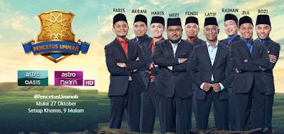 Keputusan Penuh Pemenang Pencetus Ummah Musim 4 2016