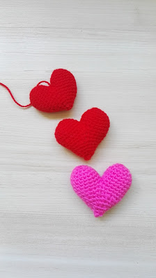 corazones san valentin a ganchillo
