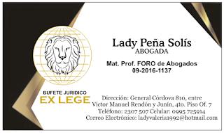 Diseños de tarjetas de visita para abogado