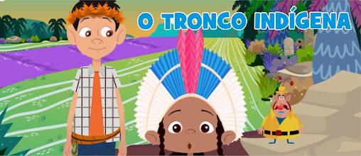 Cultura indígena Desenho e jogo pedagógico O Tronco Indígena