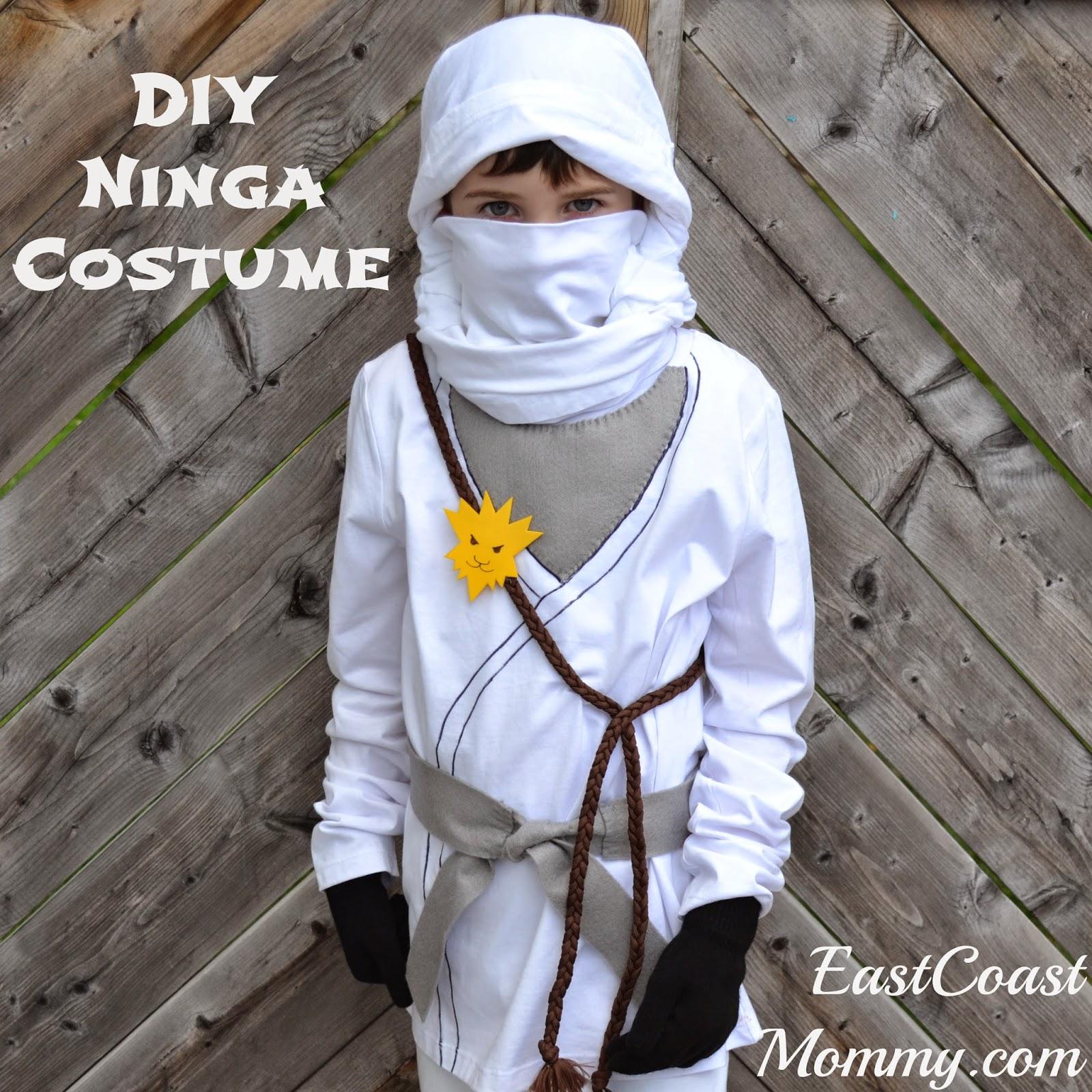 & East Coast Mommy: DIY Ninja Costume