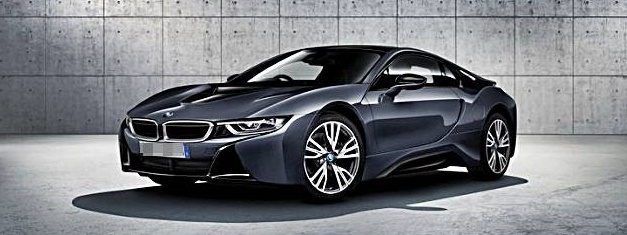 2017 BMW i8 Protonic Dark Silver Edition will be launched at 2016 Paris Motor Show