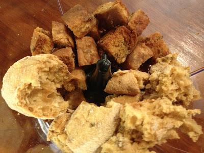 making gluten free breadcrumbs