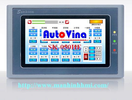 Đại lý bán màn hình cảm ứng 4.3 inch HMI Samkoon SK-043HE