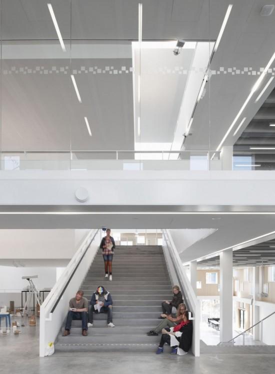 Interior Design School Stairs.