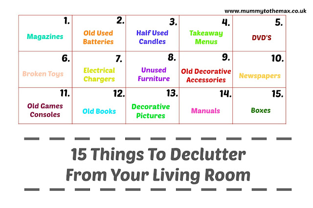 15 Things To Declutter From Your Living Room