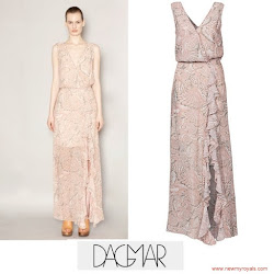 Princess Victoria Style DAGMAR Deborah Dress and YSL Sandals