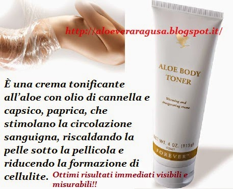 aloe vera gel forever living crema anticellulite efficace riscaldante aloe body toner. Black Bedroom Furniture Sets. Home Design Ideas