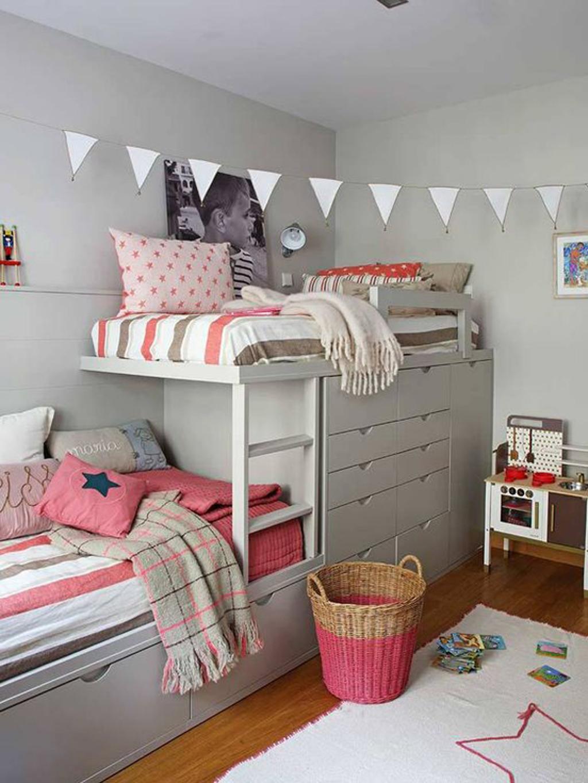 65 Desain Terbaik Kamar Tidur Dengan Lemari Rumahku Unik