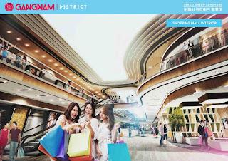 Fasilitas Apartemen Gangnam District Bekasi