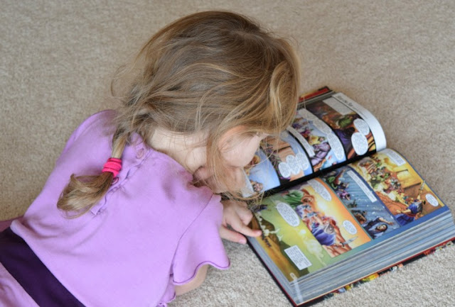 The Action Bible, included in Reading Roundup- Books We're Enjoying