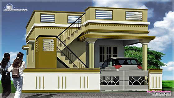 Single Floor House Elevation Models : March kerala home design and floor plans