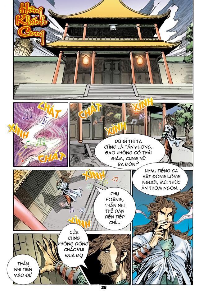 Đại Đường Uy Long chapter 70 trang 28