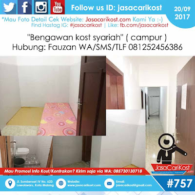 Bengawan Kost Syariah #U77 Malang