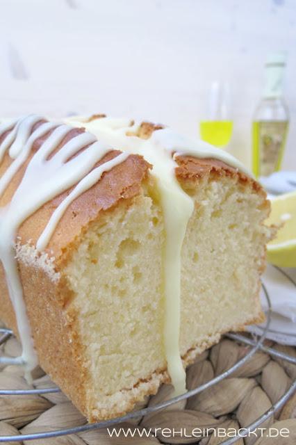 Zitrone-Mascarpone-Kuchen mit Limoncello-Guss | Foodblog rehlein backt
