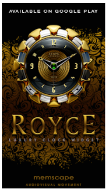 ROYCE Next Launcher 3D Theme