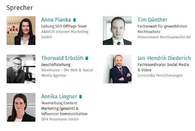 Anna Pianka, Thorwald Erbslöh, Tim Günther, Jan-Hendrik Diedrich, Annika Lingner