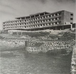Construcción del Hotel Fariones (Lanzarote)