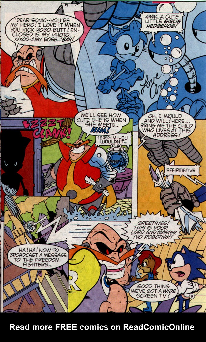 Read online Sonic The Hedgehog comic -  Issue #25 - 6