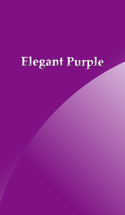 Elegant Purple*