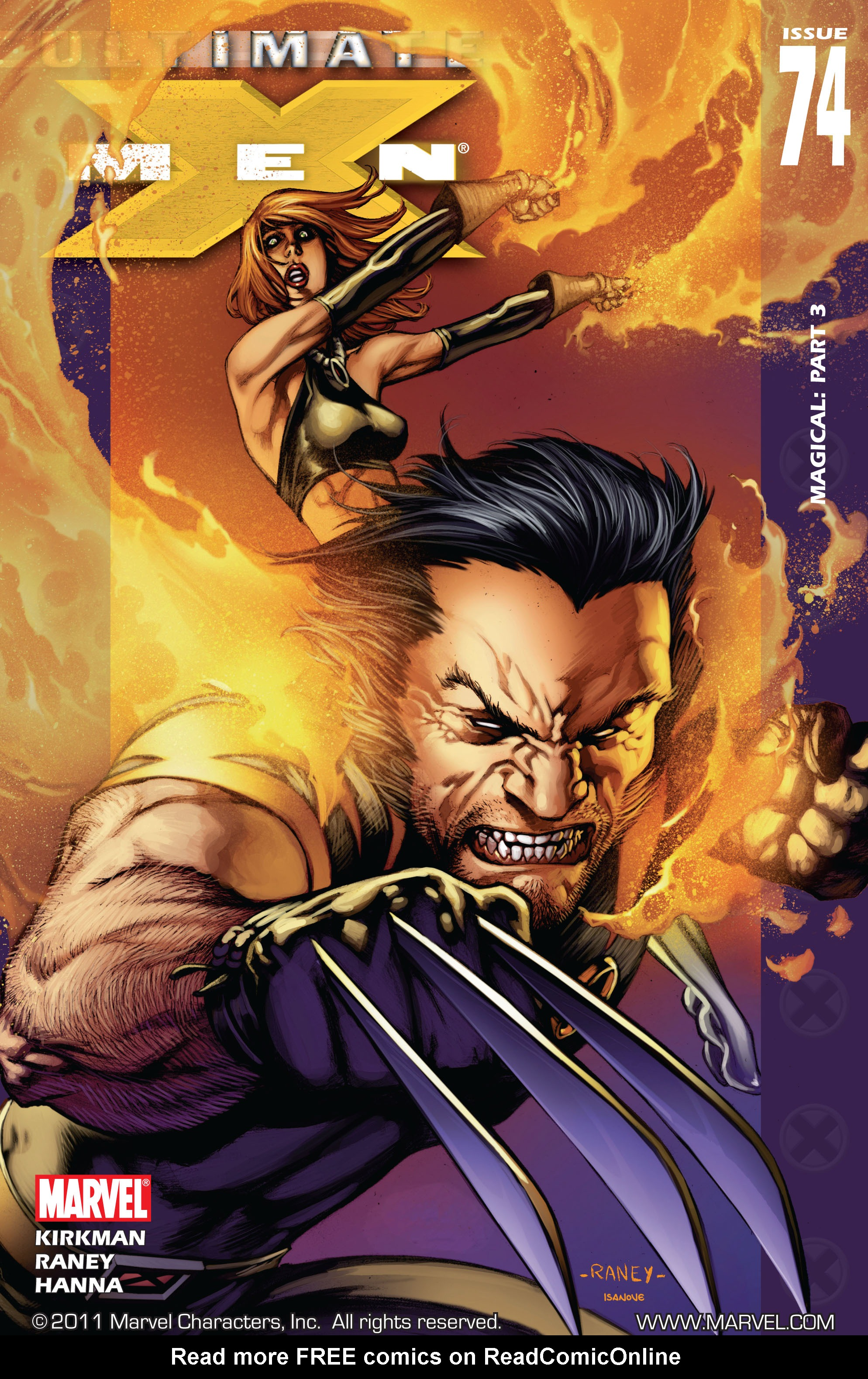 Read online Ultimate X-Men comic -  Issue #74 - 1