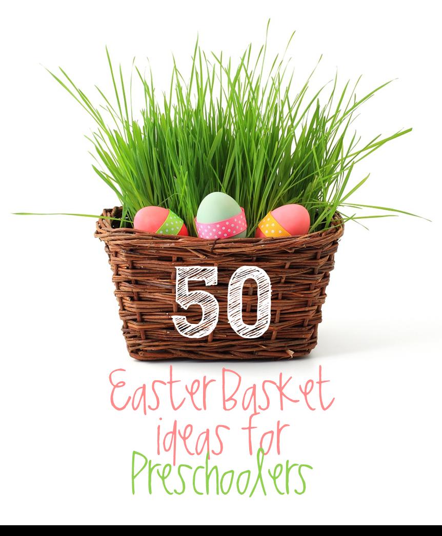 Preschool Ponderings: Last Minute Easter Basket Ideas for ...
